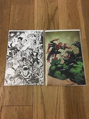 NYCC 2019 Marvel Rare Virgin Variant Comics Powers of X #5, Absolute Carnage Set