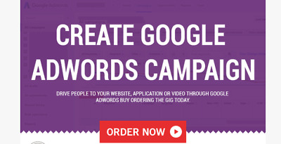 Setup and Optimize Google Adwords Campaign Competitor Marketing Analysis Report