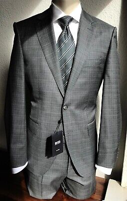 factory outlet get new various design HUGO BOSS TAILORED Anzug, grau, Di Delfino-Tuch, 48, NP: 899 ...