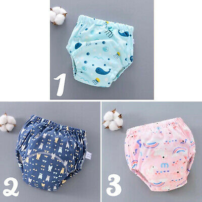 Baby Toddler BreathableToilet Potty Waterproof Training Pants 6 Layers