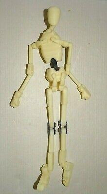 Plastic Jointed Poseable Mannequin 11.5""