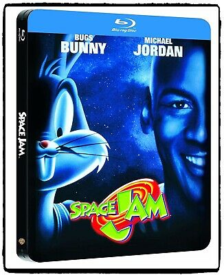 WB Space Jam 1996 Blu-ray Steelbook Edition / Michael Jordan / Bugs Bunny