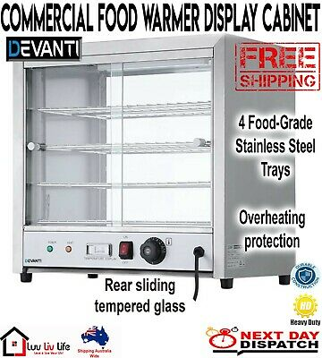 Commercial Food Warmer Stainless Steel Pizza Buffet Hot Display Showcase Cabinet