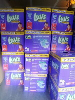 LUVS Ultra Leakguards Baby Diapers Size 1, 3.