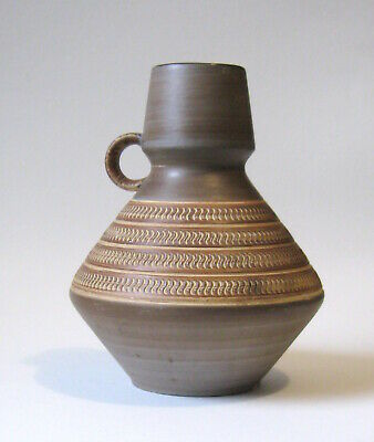 Retro 60's 70's West German Jug Vase tribal style 309/22 cm
