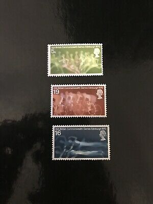 1970 British Commonwealth Games Stamps Mnh