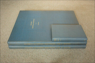 Ancient Egyptian Paintings. Nina Davies. Chicago Press. 3 Vol. Ltd Edition. 1936