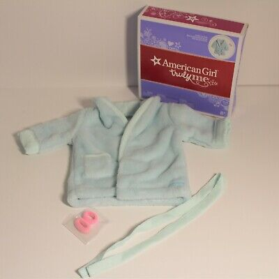 American Girl Sparkle Spa Robe Set PLUS DELUXE GOODY BAG NEW IN BOX /& BAG