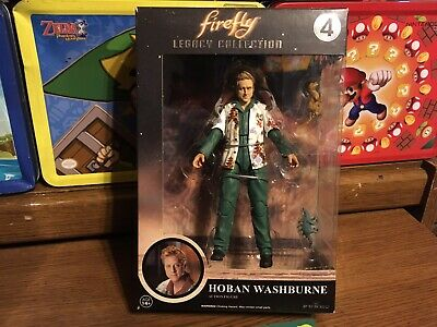 FIREFLY HOBAN WASHBURNE LEGACY COLLECTION Action FIGURE New With Shelf Ware
