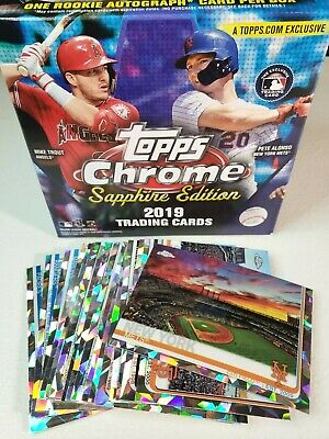 2019 Topps Chrome Sapphire MLB Stadiums You Pick Complete your set