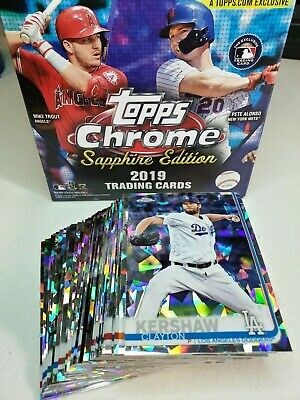2019 Topps Chrome Sapphire #1-200 You Pick Complete your set