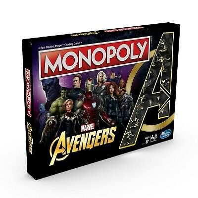 🔥🔥 Monopoly: Marvel Avengers Edition Board Game NEW 🔥🔥