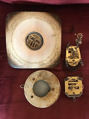 *Clock Parts, Movements And Dial For Parts Or Restoration Repair