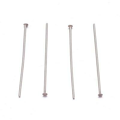 50-100 Head Pin Pins - STAINLESS STEEL - 30mm (STAS-F117)