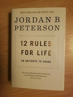 12 Rules for Life: An Antidote to Chaos Hardcover –