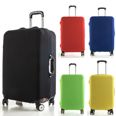 Luggage Suitcase Dust Cover Protector Protect Elastic Anti Scratch  Pure Color