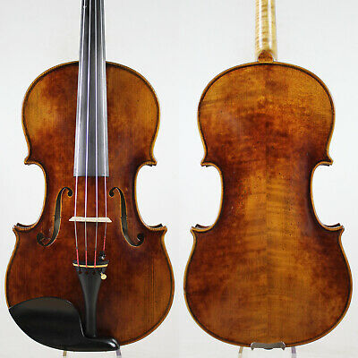 Antique Vanish!A Strad Viola 15 inch Copy! #5962 Deep Warm Tone
