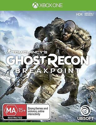 Tom Clancys Ghost Recon Breakpoint XBOX One Action Shooter Game Microsoft XB1
