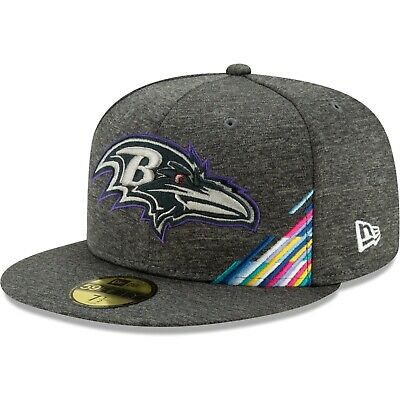 Baltimore Ravens New Era  2019 NFL Crucial Catch  59FIFTY Fitted Hat - Graphite