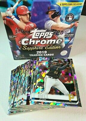 2019 Topps Chrome Sapphire #201-400 You Pick Complete your set