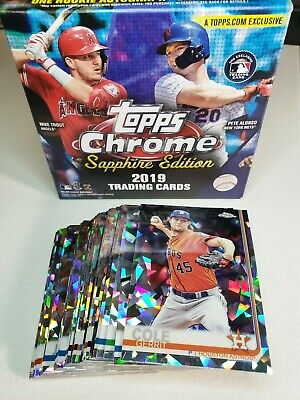 2019 Topps Chrome Sapphire #401-600 You Pick Complete your set