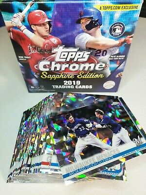 2019 Topps Chrome Sapphire #601-700 You Pick Complete your set
