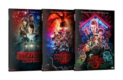 "Stranger Things:The Complete Season 1,2,3,(DVD,8-Disc) Brand New ""FAST SHIPPING"""