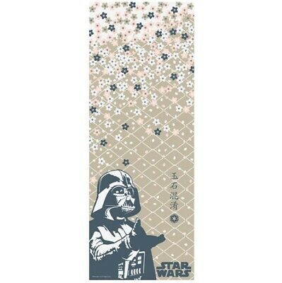 STAR WARS TENUGUI Japanese Cotton Fabric Hand Towel MADE IN JAPAN 90X34cm T11