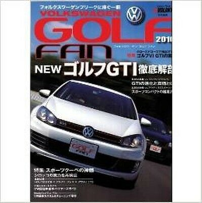 Volkswagen Golf Fan Book 2010 New Golf GTI thorough?verification Golf fan book