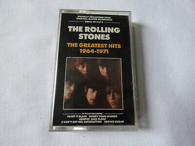 The Rolling Stones ~ Hot Rocks Greatest Hits 1964-1971 Remastered Cassette Tape