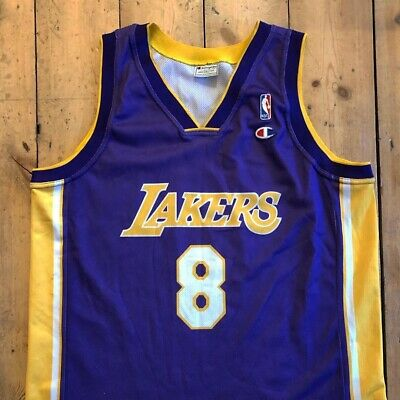 Kobe Bryant LA Lakers Basketball Jersey Size XL Extra Large Champion NBA Vest