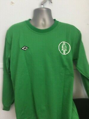 Leeds united goalkeeper replica shirt 1970,s  small
