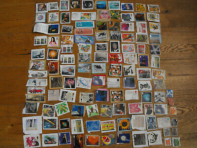 120 Used First & Second Class  Picture Stamps  All Good Condition All Different