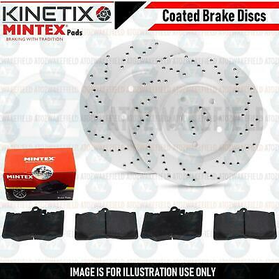 ALFA GTV 3.0 V6 04//1998-05//2003 Front /& Rear Brake Discs /& Pads 305mm /& 240mm