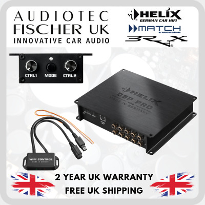 HELIX DSP PRO MK2 High-Res 10-channel DSP + Wifi Module + URC.3 Hi-Res SQ