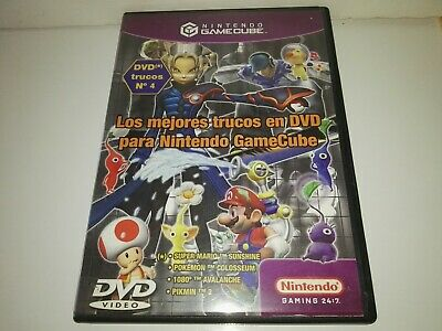 Promotional DVD: The best DVD tricks/trucos for Nintendo Gamecube , 2004 rare.