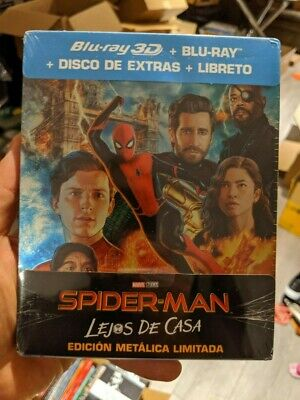 Spider-Man Far From Home - Limited Edition Steelbook (Blu-ray 2D/3D) PRE-ORDER!!