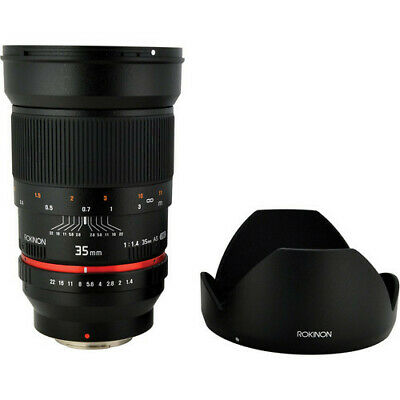 Rokinon 35mm f/1.4 AS IF UMC Lens for Sony E-Mount - NEW