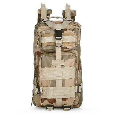 3P Tactical Military Backpack Sports Bag 30L for Camping Traveling Hiking