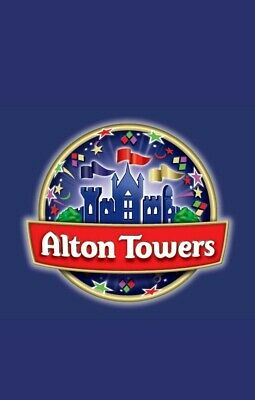 Alton Towers Tickets! - Friday 11th October 2019