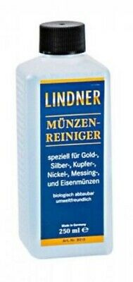 1 Linder Coin Cleaner 250 ml For All Types of Coins Removes Oils Dirt & Grime