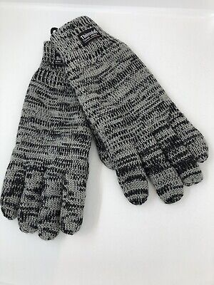 Men's Thermal Thinsulate 3M Knitted Full Finger Gloves Winter Warm Wooly Mitts