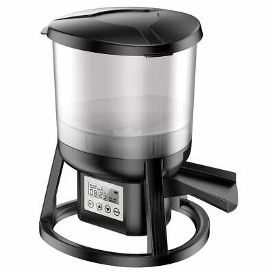 Automatic Pond Fish Feeder With Wifi & Rechargeable Battery, 13lb Capacity