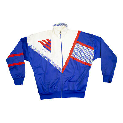 Umbro Sports Jacket | Vintage 80s Sportswear Tracksuit Top Shell Suit
