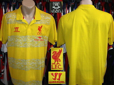 Polo Style Shirt LIVERPOOL FC (The Reds) Warrior 2012/2013 Training Leisure