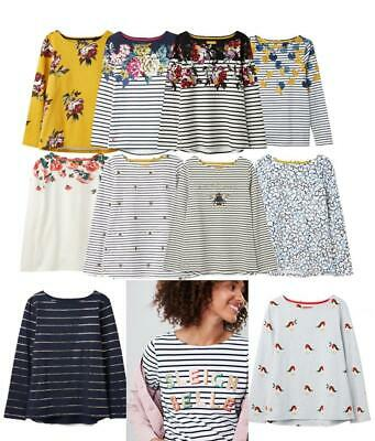 Joules Harbour Print Long Sleeve Jersey Top - ALL COLOURS