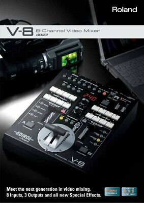 Edirol V-8 Video Mixer Switcher