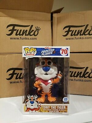 """Funko Pop Ad Icons #70 Tony The Tiger 10"""" Frosted Flakes Cereal Funko Exclusive"""