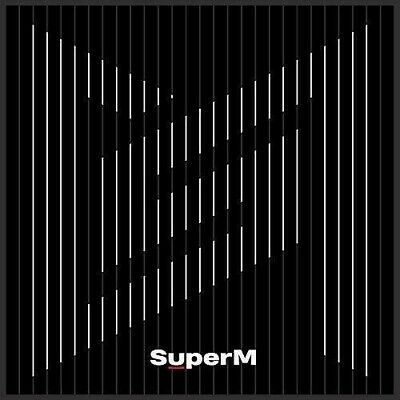 physical CD of SuperM's new album, The 1st Mini Album 'SuperM'.