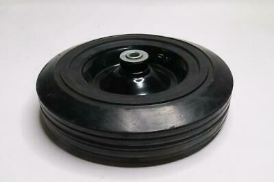 "Qty 4 - 10"" X 3"" Rubber Wheel W/ 1/2"" Id"